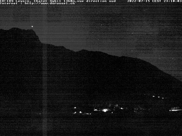 Meteo Valais, Webcam Leysin